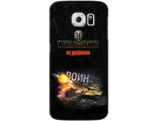 Чехол Deppa Art Case и защитная пленка для Samsung Galaxy S6, Танки_Воин, deppa чехол air case и защитная пленка для samsung galaxy a7 2016 серый deppa 83237