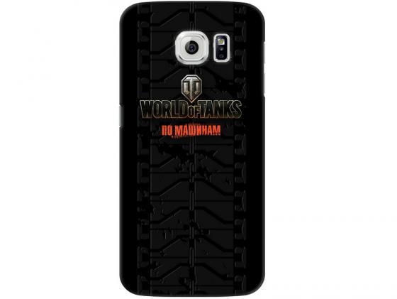 Чехол Deppa Art Case и защитная пленка для Samsung Galaxy S6, Танки_Протектор, стоимость