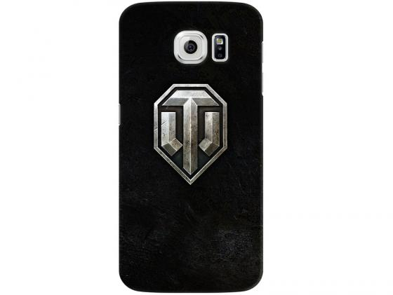 Чехол Deppa Art Case и защитная пленка для Samsung Galaxy S6, Танки_Эмблема, чехол deppa art case и защитная пленка для samsung galaxy s6 edge танки разведчик