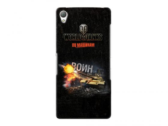Чехол Deppa Art Case и защитная пленка для Sony Xperia Z3, Танки_Воин, new poa lmp86 lmp86 610 317 5355 lamp for sanyo plv z3 plv z1x plv z1x z3 projector bulb lamp with housing