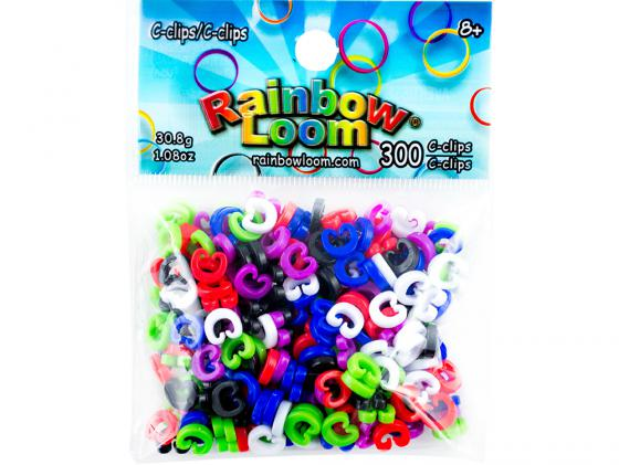 С-клипсы для плетения Rainbow Loom 2127 300 шт педаль reverb delay strymon flint