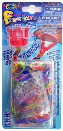 Резинки для плетения Rainbow Loom Фингер Лум R0038В набор для творчества rainbow loom станок фингер лум зелёный