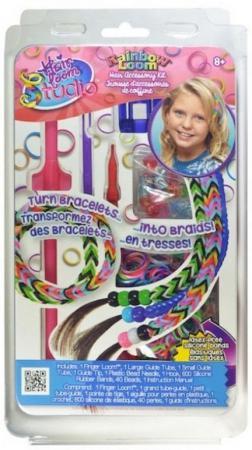 Набор для плетения Rainbow Loom украшений для волос Хэа Лум Студио R0053B резиночки для плетения браслетов rainbow loom мармелад микс rainbow loom
