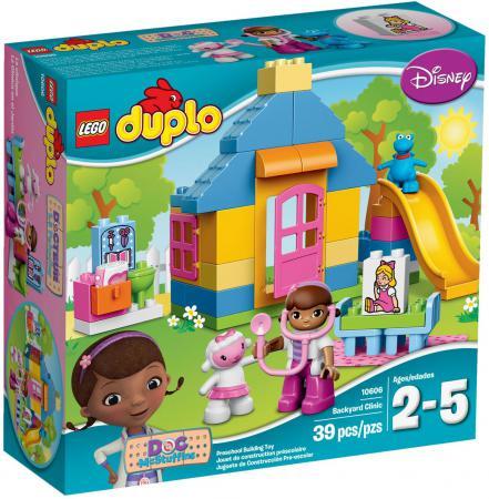 Конструктор LEGO Duplo: Больница Доктора Плюшевой 39 элементов 10606 lego lego конструктор duplo ветеринарная клиника доктора плюшевой