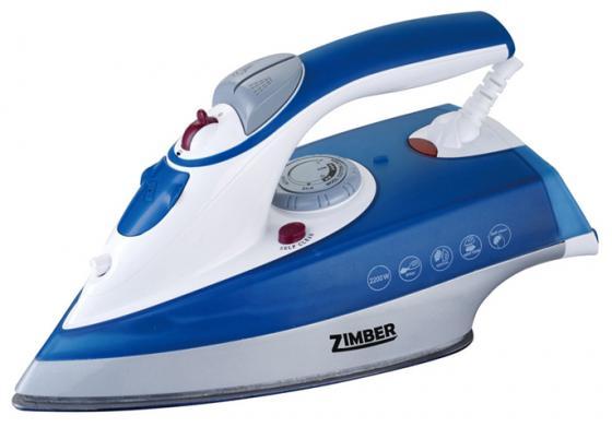 Утюг Zimber ZM-10809 2000Вт синий цена