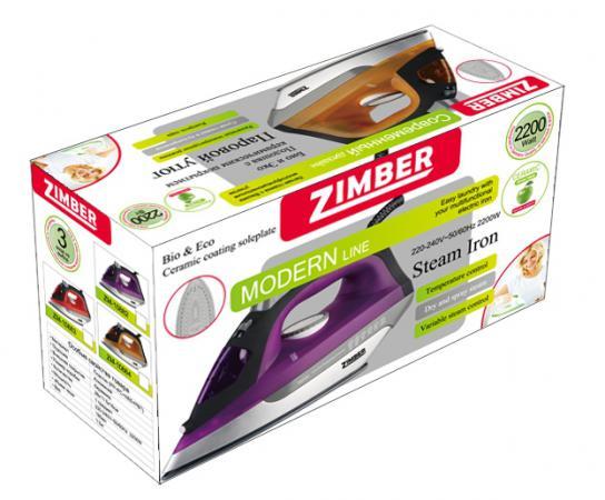 Утюг Zimber ZM-10884 2200Вт оранжевый