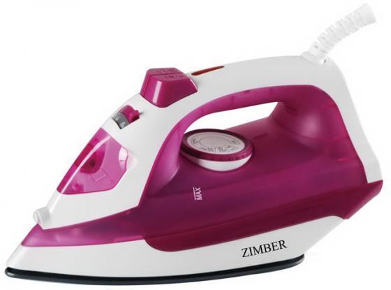 Утюг Zimber ZM-10997 2200Вт пурпурный утюг zimber zm 11080 2200вт коричневый