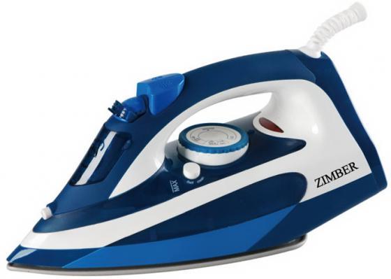Утюг Zimber ZM-11001 2200Вт синий утюг zimber zm 11001
