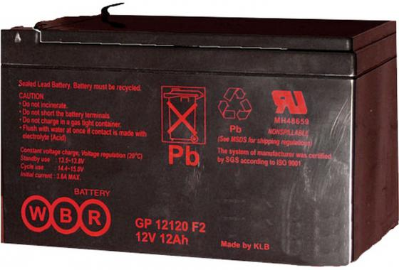 все цены на Батарея WBR GP 12120 F2 12V/12AH