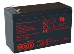 Батарея WBR GP 1272 F2 (28W) 12V/7.2AH цены