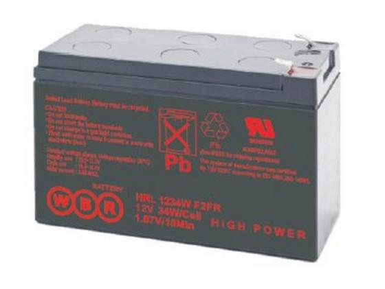 цена на Батарея WBR HR 1234 W F2 12V/9AH