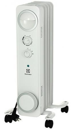 Масляный радиатор Electrolux EOH/M-6105 1000 Вт белый масляный радиатор electrolux eoh m 6105 1000 вт ручка для переноски белый