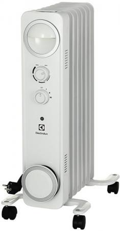 Масляный радиатор Electrolux EOH/M-6157 1500 Вт белый масляный радиатор eoh m 3157 7 секций 1500 вт electrolux