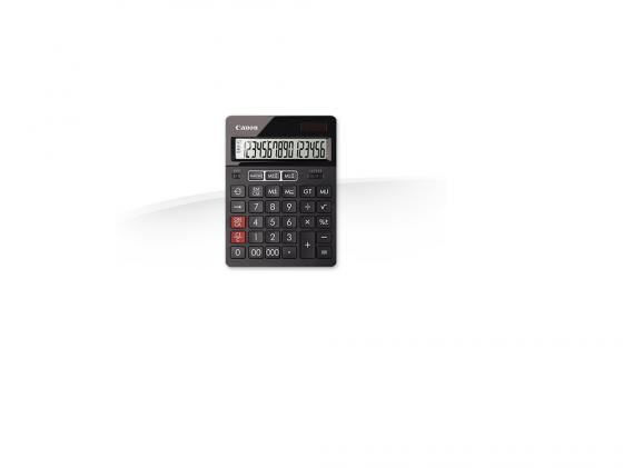 Калькулятор Canon AS-280 16 разрядов черный калькулятор canon as 888