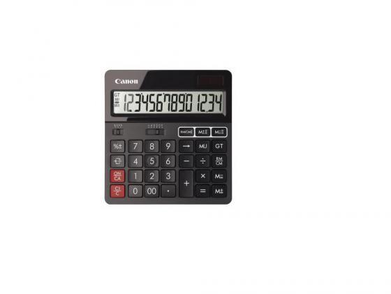 Калькулятор Canon AS-240 14 разрядов черный canon as 130 черный