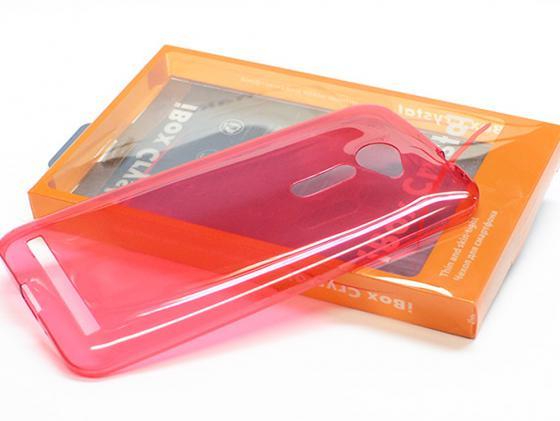 Чехол силикон iBox Crystal для  Sony Xperia C5 Ultra красный стоимость
