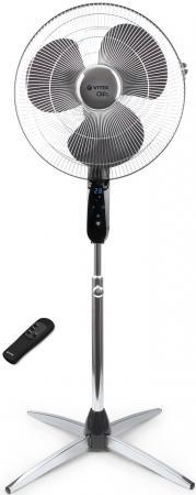 Вентилятор напольный Vitek VT-1911 СН 55 Вт черно-серебристый вентилятор vitek vt 1922 ch