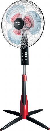 Вентилятор напольный Vitek VT-1913 GY 60 Вт черно-красный