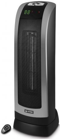 Тепловентилятор Vitek VT-2134 BK 1800 Вт чёрный пылесос vitek vt 8130 bk сухая уборка зелёный чёрный