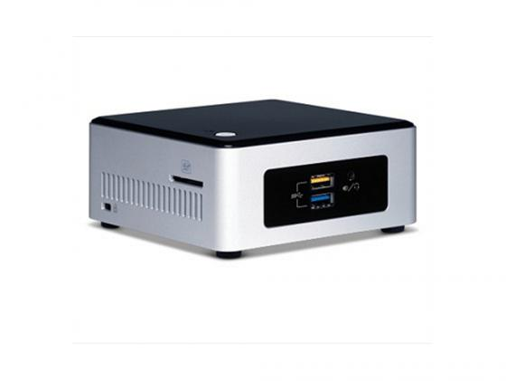 Неттоп-платформа Intel BOXNUC5CPYH N3050 1.6GHz 1xDDR3 SATA Intel HD Bluetooth Wi-Fi GbLAN 4xUSB 3.0 HDMI VGA серебристо-черный BOXNUC5CPYH 940289 intel boxnuc5i5ryk i5 5250u 1 6ghz 2xddr3 sata intel hd 6000 bluetooth wi fi gblan 4xusb 3 0 minihdmi boxnuc5i5ryk 936793