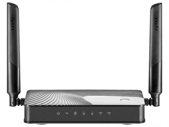 Беспроводной маршрутизатор Zyxel Keenetic Giga III 802.11acbgn 1167Mbps 2.4 ГГц 5 ГГц 4xLAN USB3.0 черный маршрутизатор zyxel keenetic omni ii 802 11bgn 300mbps 2 4 ггц 4xlan usb usb черный