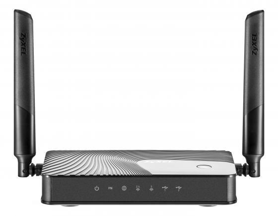 Беспроводной маршрутизатор Zyxel Keenetic Ultra II 802.11aс 1167Mbps 5 ГГц 2.4 ГГц 7xLAN USB черный беспроводной маршрутизатор zyxel keenetic omni ii 802 11n 300мбит с 2 4ггц 4xlan wan usb