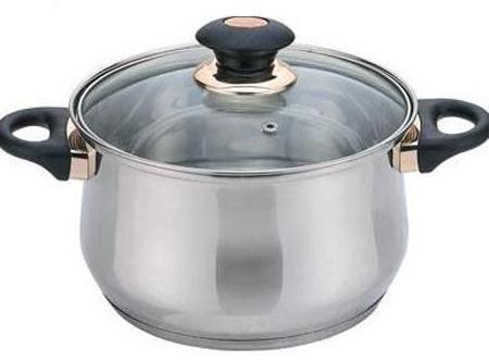 купить Кастрюля Bekker BK-1255 18 см 2.8 л нержавеющая сталь по цене 1280 рублей
