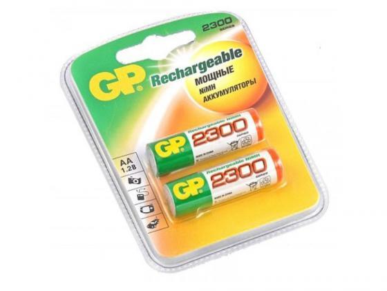 Аккумулятор 2300 mAh GP 230AAHC-2DECRC2 AA 2 шт аккумулятор 2300 mah gp 230aahc 2cr4 aa 4 шт