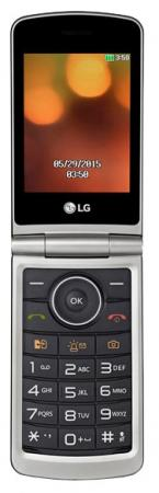 Мобильный телефон LG G360 титан 3 20 Мб проводной и dect телефон foreign products vtech ds6671 3