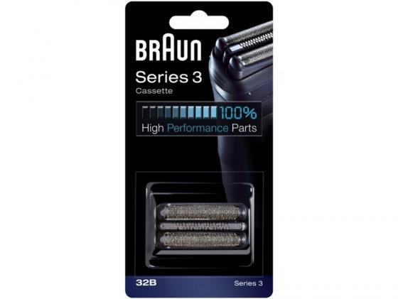 Сетка и режущий блок Braun Series 3 32B аксессуар braun series 3 32b сетка и режущий блок