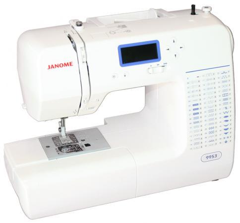 Швейная машина Janome 9953 белый швейная машина janome sew dream 510 белый