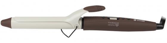 Щипцы для укладки волос Vitek VT-2294 BN коричневый щипцы для укладки vitek щипцы для укладки vitek vt 2381 cl
