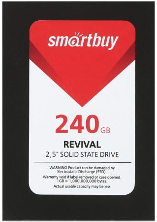 "все цены на Твердотельный накопитель SSD 2.5"" 240GB Smartbuy Revival 525Mb/s Write 500Mb/s SB240GB-RVVL-25SAT3 онлайн"