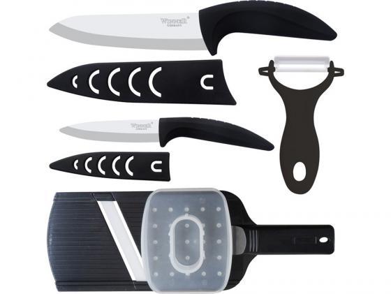 Набор ножей Winner WR-7314 4 предмета циркониевая керамика цена