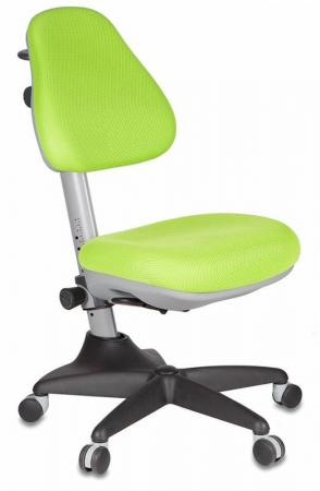 Кресло детское Бюрократ KD-2/G/TW-18 салатовый кресло детское бюрократ kd w6 tw 18