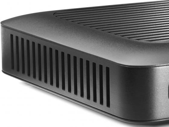 Тонкий клиент HP t420 2Gb клавиатура мышь черный M5R72AA от Just.ru