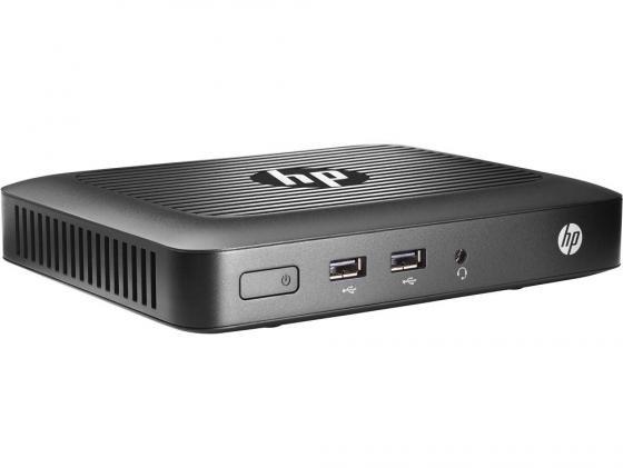Тонкий клиент HP t420 2Gb клавиатура мышь черный M5R73AA тонкий клиент hp t420 gx 209ja 1 0ghz hp smart zero core black m5r72aa