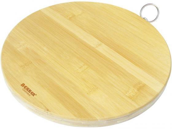 Доска разделочная Bekker BK-9703 30x2 бамбук bekker разделочная доска bekker bk 9708 6oana4n