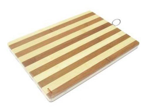 Доска разделочная Bekker BK-9708 40х30х2 бамбук доска разделочная bekker bk 9700 30x20x2 бамбук