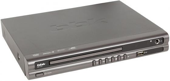 Проигрыватель DVD BBK DVP176SI караоке серый проигрыватель dvd bbk dvp034s караоке серый