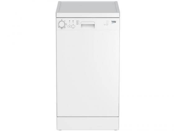 Посудомоечная машина Beko DFS 05010 W белый посудомоечная машина beko dfs 05010 w