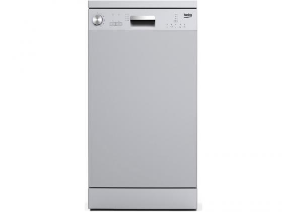 Посудомоечная машина Beko DFS 05010 S серебристый посудомоечная машина beko dfs 05010 w