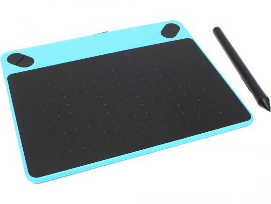 все цены на Графический планшет Wacom Intuos Art PT S CTH-490AB-N черно-синий USB онлайн