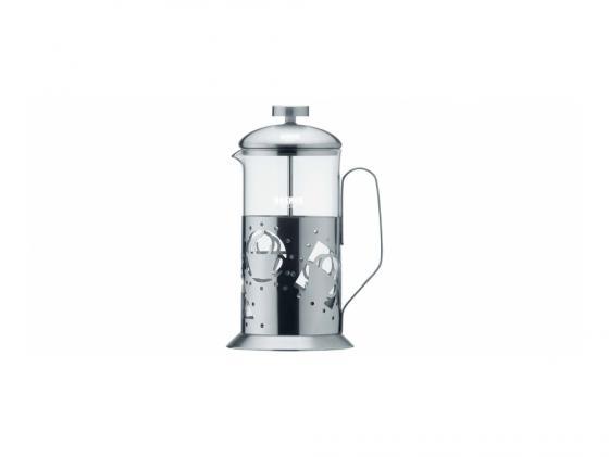 Френч-пресс Bekker BK-361 0.6 л металл/стекло серебристый