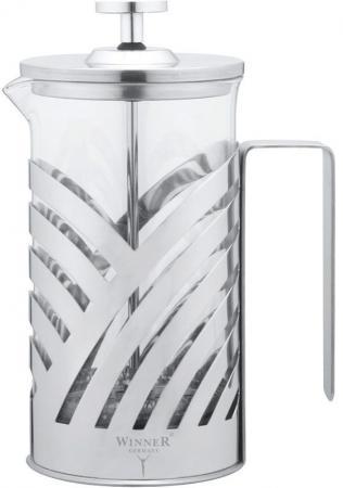 Френч-пресс Winner WR-5202 серебристый 0.6 л металл/стекло стоимость