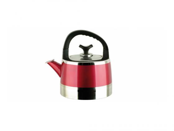 Чайник Bekker BK-S447 3 л нержавеющая сталь серебристый красный bekker 3