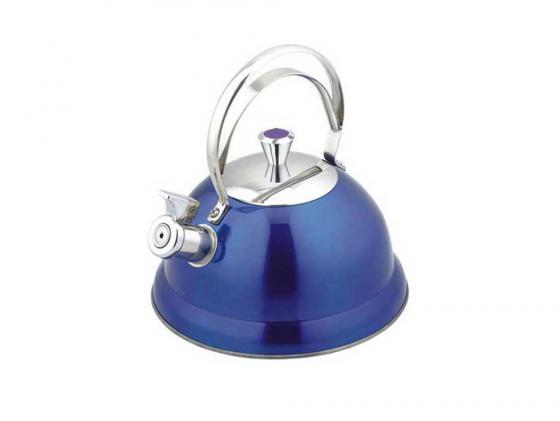 Чайник Bekker BK-S440 2.6 л нержавеющая сталь синий чайник bekker bekker bk s440