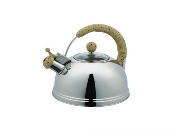 Чайник Bekker ВК-S368 3 л нержавеющая сталь серебристый чайник заварочный bekker 303 вк серебристый 0 9 л металл пластик