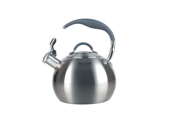 все цены на Чайник Rondell Ball RDS-495 3 л нержавеющая сталь серебристый онлайн