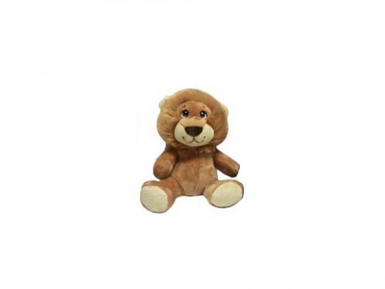 Мягкая игрушка лев Fluffy Family 681153 15 см коричневый искусственный мех интерактивная игрушка fluffy family бобер повторяшка от 3 лет 681012 коричневый